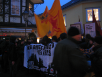 Antifaschistische Demonstration in Bad Lauterberg, 19.01.2008