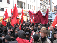 Demo in Weender Straße