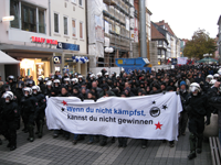 Demospitze in Weender Straße