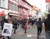 Spontane antifaschistische Demo, Göttingen 22.5.2011
