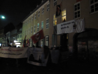 Solidemonstration in der Roten Straße, Göttingen