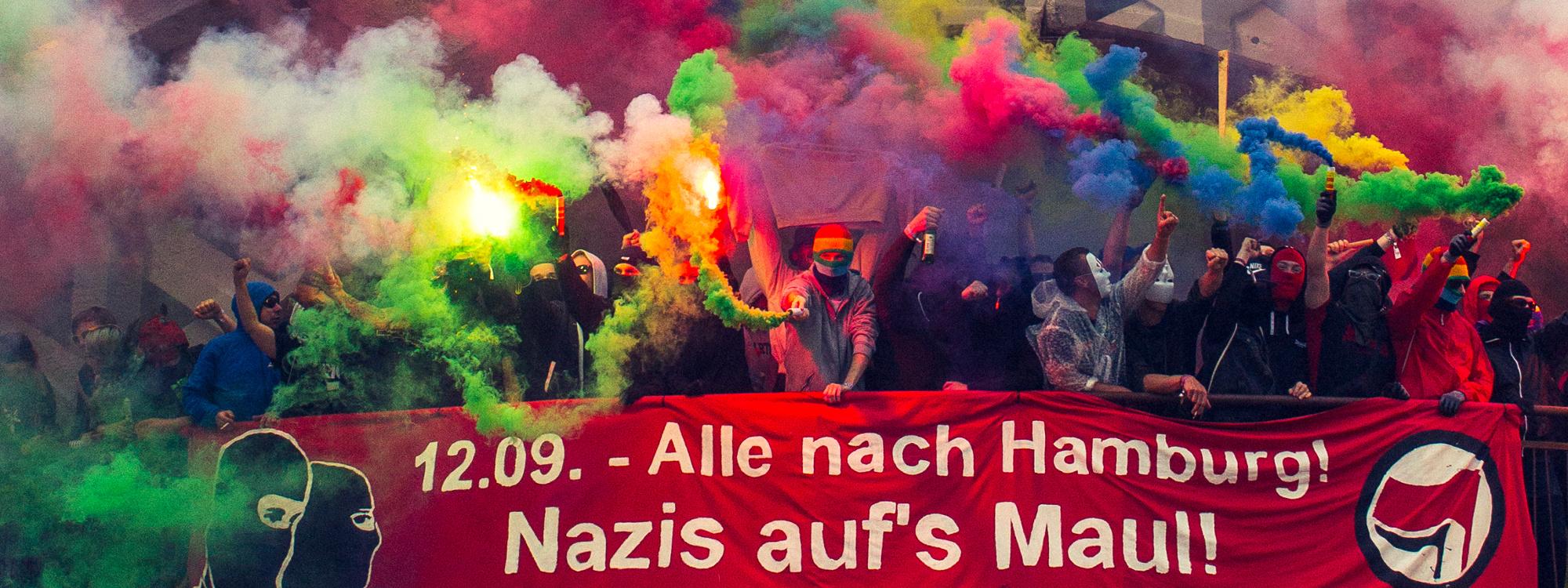 Bildergebnis für antifa nazis aufs maul