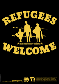 Poster: Refugees Welcome!