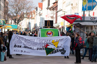 Afrin ist überall - Demonstration in Göttingen am 24.03.2018