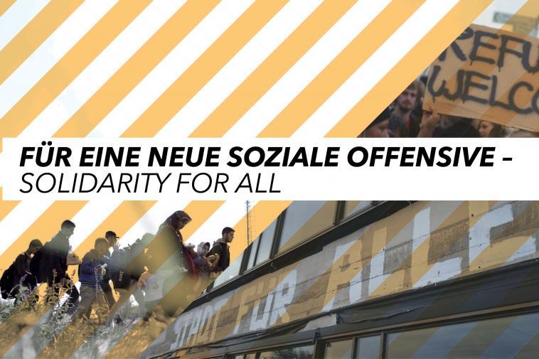 Für eine neue soziale Offensive – Solidarity for all