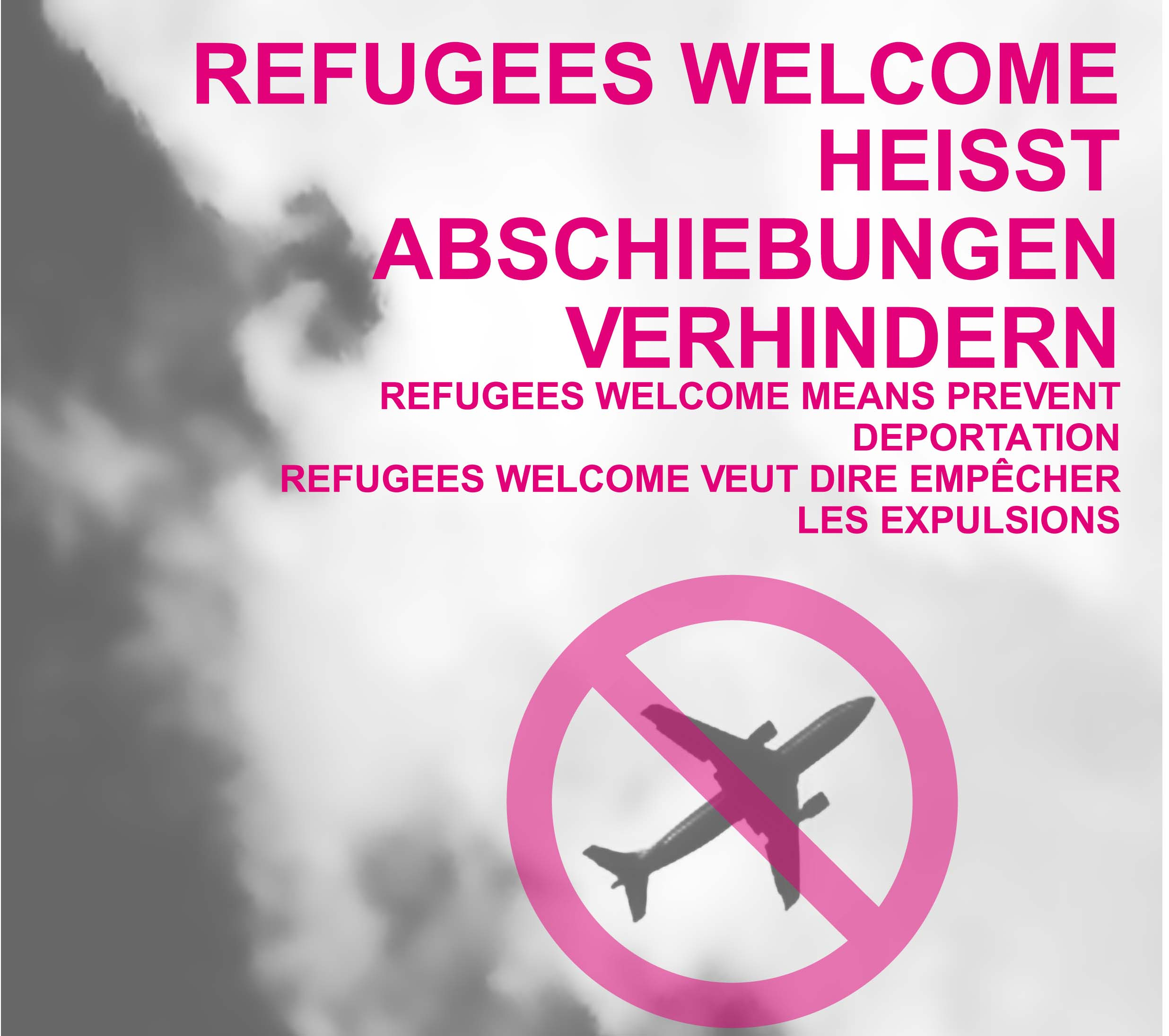 Refugees Welcome heißt Abschiebungen verhindern – Veranstaltung am 20. Januar