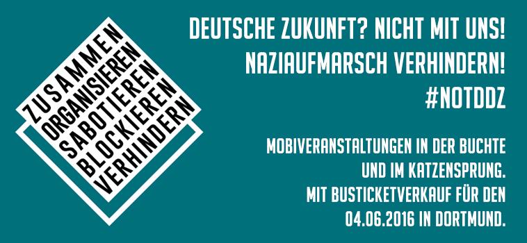 Keine Zukunft für Nazis! – Mobiveranstaltung
