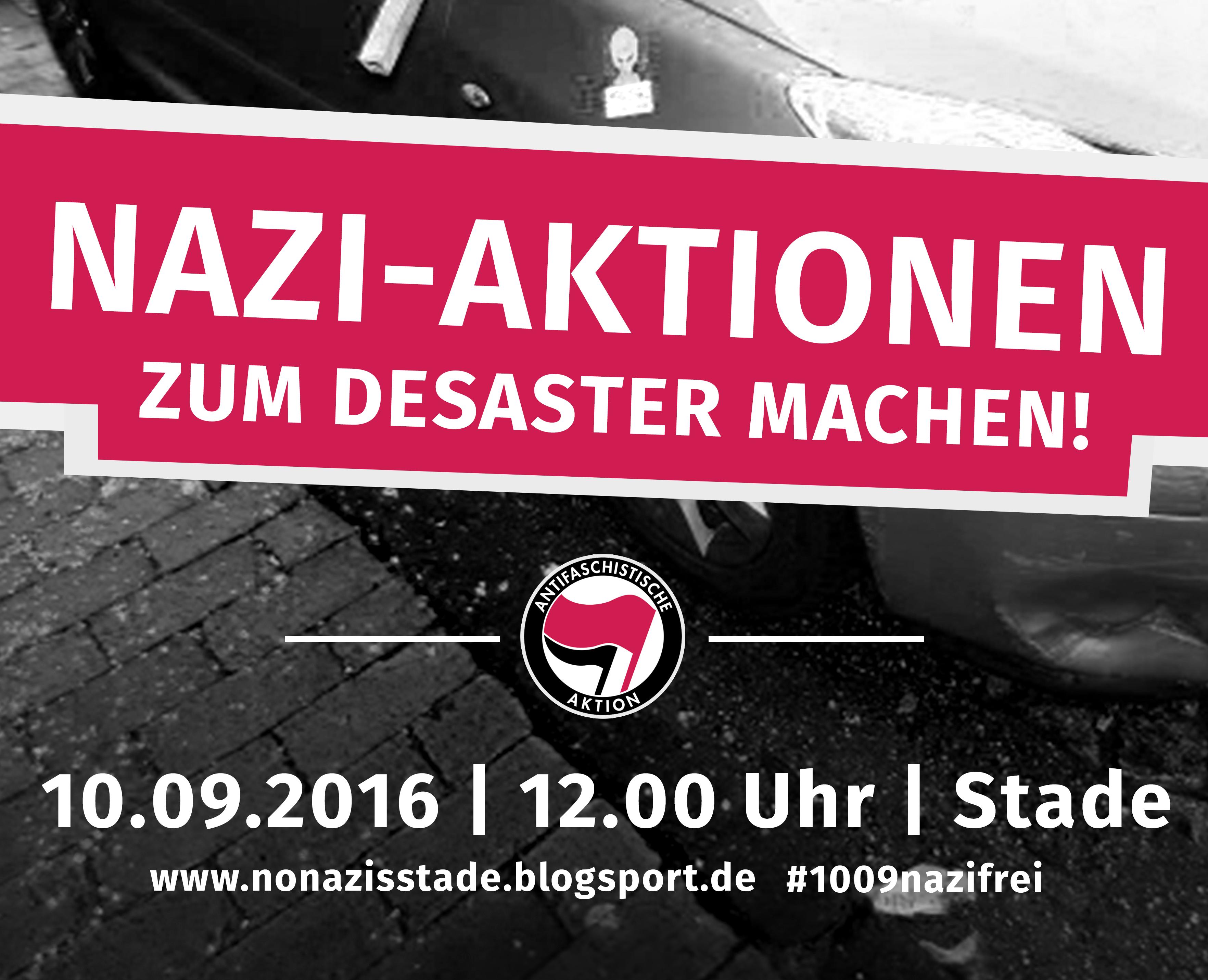 Kein Naziaufmarsch in Stade!