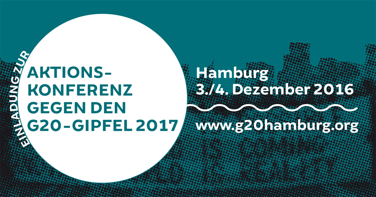 G20 2017 in Hamburg