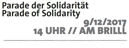 Parade der Solidarität