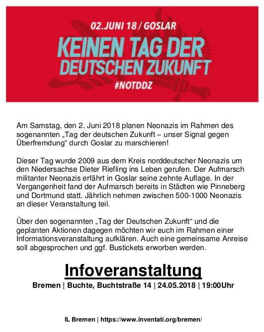 #NOTDDZ Goslar – Infoveranstaltung