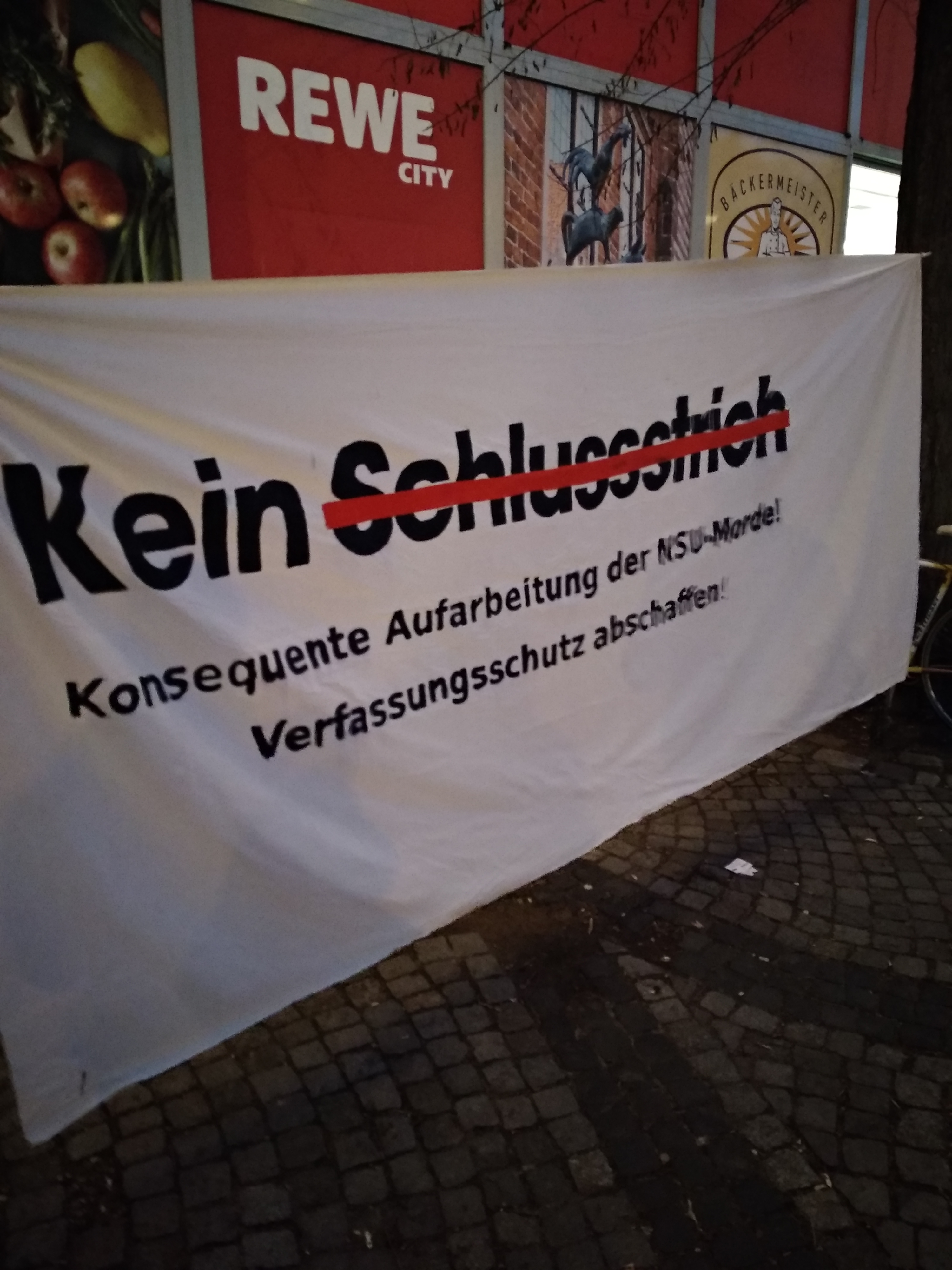 """""""NSU – Kein Schlussstrich!"""""""