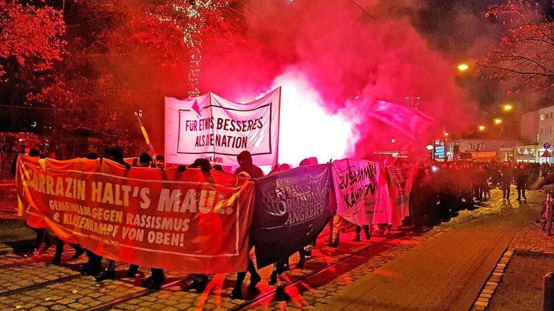 Redebeitrag der IL Bremen auf der Demonstration gegen den Sarrazin-Besuch in der Havanna Lounge