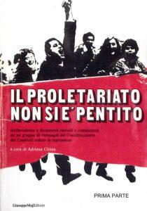 151 il proletariato non si è pentito - a cura di Adriana Chiaia, luglio 1984