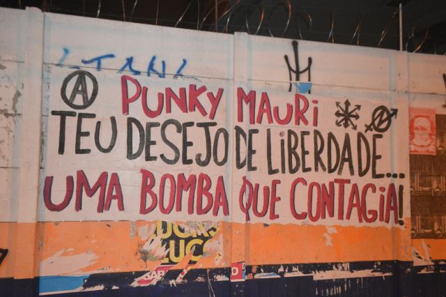 PUNKY MAURI TU DESEO DE LIBERTAD.. UNA BOMBA QUE CONTAGIA