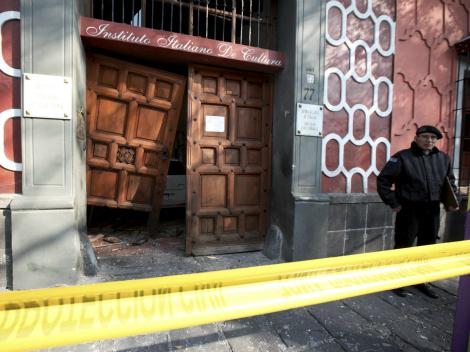 Ataque de CARI-PGG al Instituto Italiano de Cultura