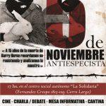 URUGUAY: 5 DE NOVIEMBRE ANTIESPECISTA