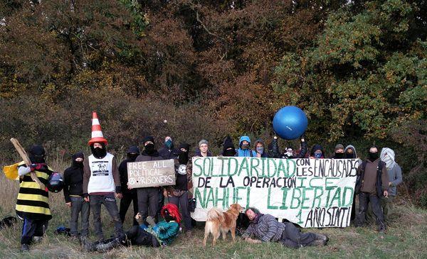 L@s ocupantes del Bosque de Hambach en solidaridad con Nahuel
