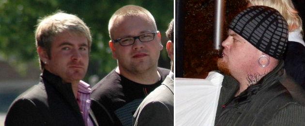 Andreas Neuber, Marcel Mikosch, Oliver Hochmuth. Fotos: Indymedia linksunten, Indymedia linksunten