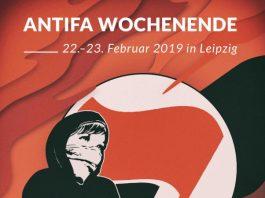 Antifa-Wochenende 22.-23. Februar 2019 in Leipzig