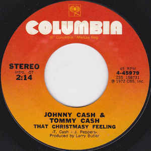 Tommy & Johnny Cash – That Christmasy Feeling