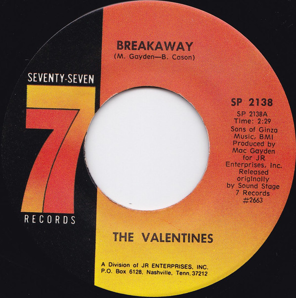 The Valentines – Breakaway