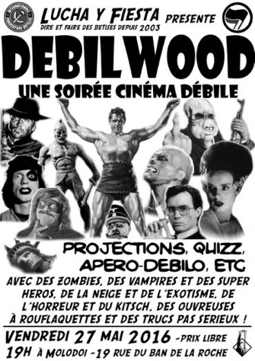 Debilwood, une nuit du film débile