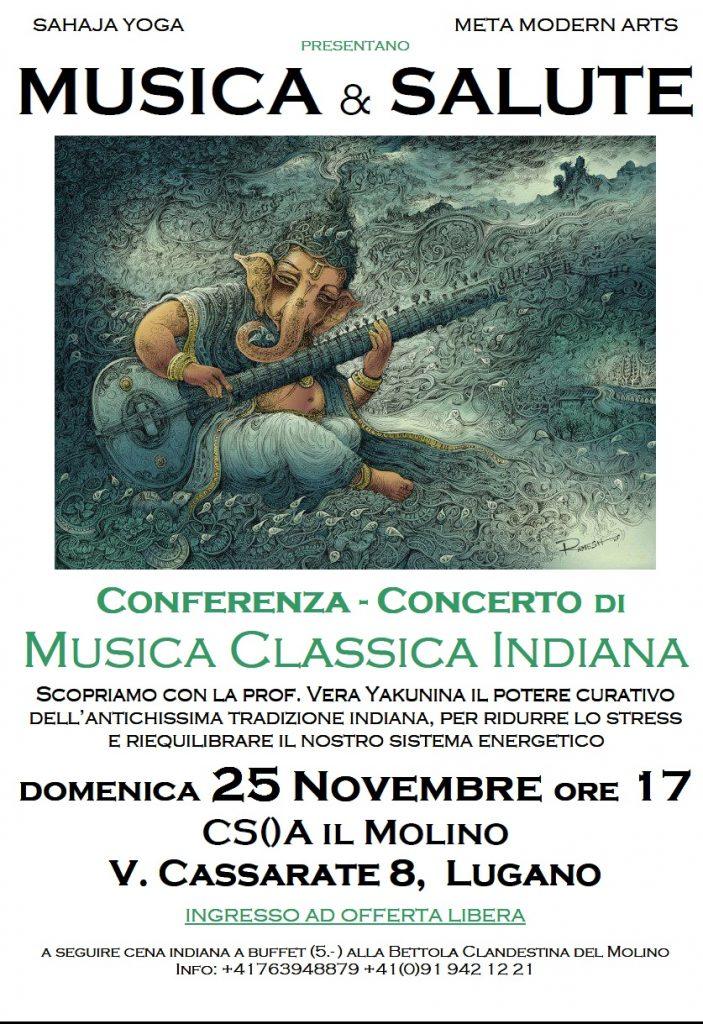 Conferenza concerto di musica indiana