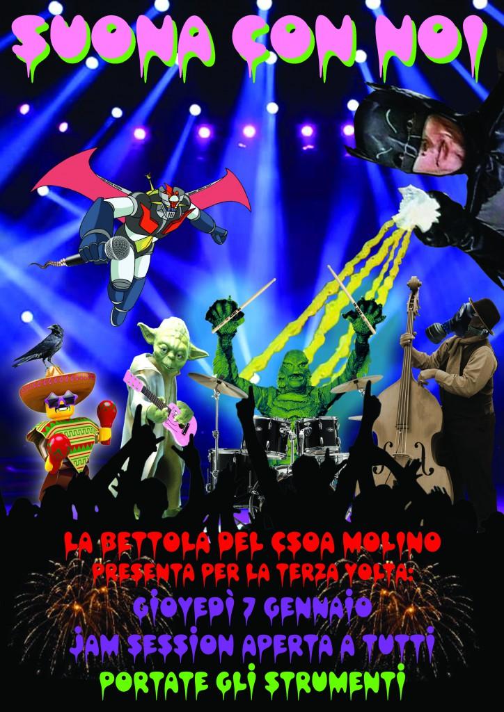 jam session flyer Recuperato
