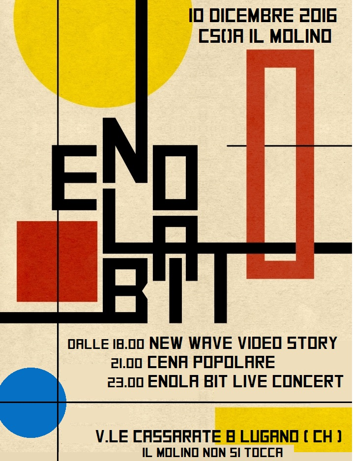 10.12.2016 - Enola Bit & New Wave Video Story