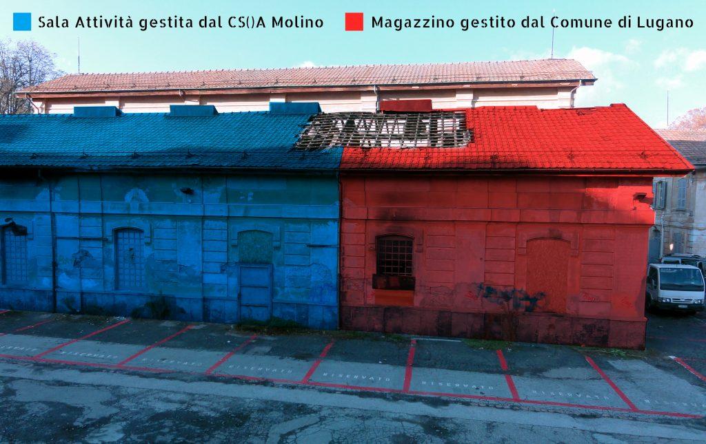 Fotografie Danni Incendio Magazzino Comunale 9.11.2016 1