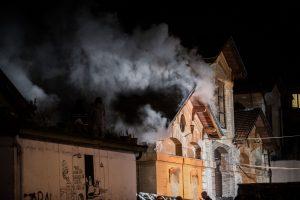 Fotografie Incendio Magazzino Comunale 9.11.2016 24