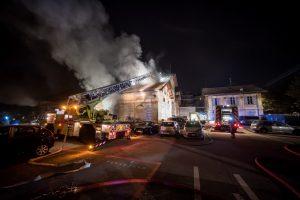 Fotografie Incendio Magazzino Comunale 9.11.2016 25