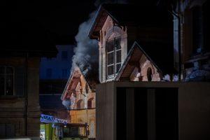Fotografie Incendio Magazzino Comunale 9.11.2016 26