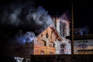 Fotografie Incendio Magazzino Comunale 9.11.2016 27