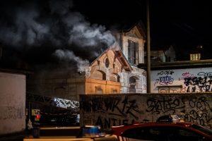 Fotografie Incendio Magazzino Comunale 9.11.2016 28
