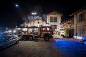 Fotografie Incendio Magazzino Comunale 9.11.2016 29
