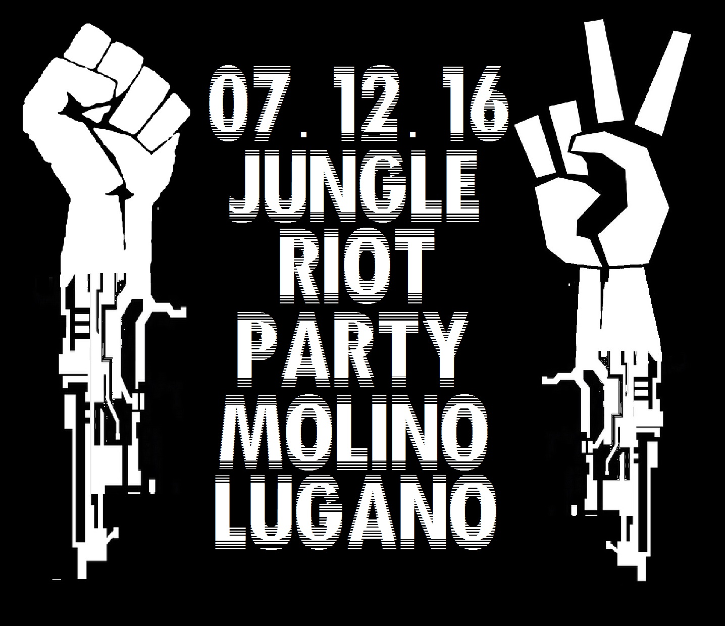 07.12.2016 - Jungle Riot Soli Party