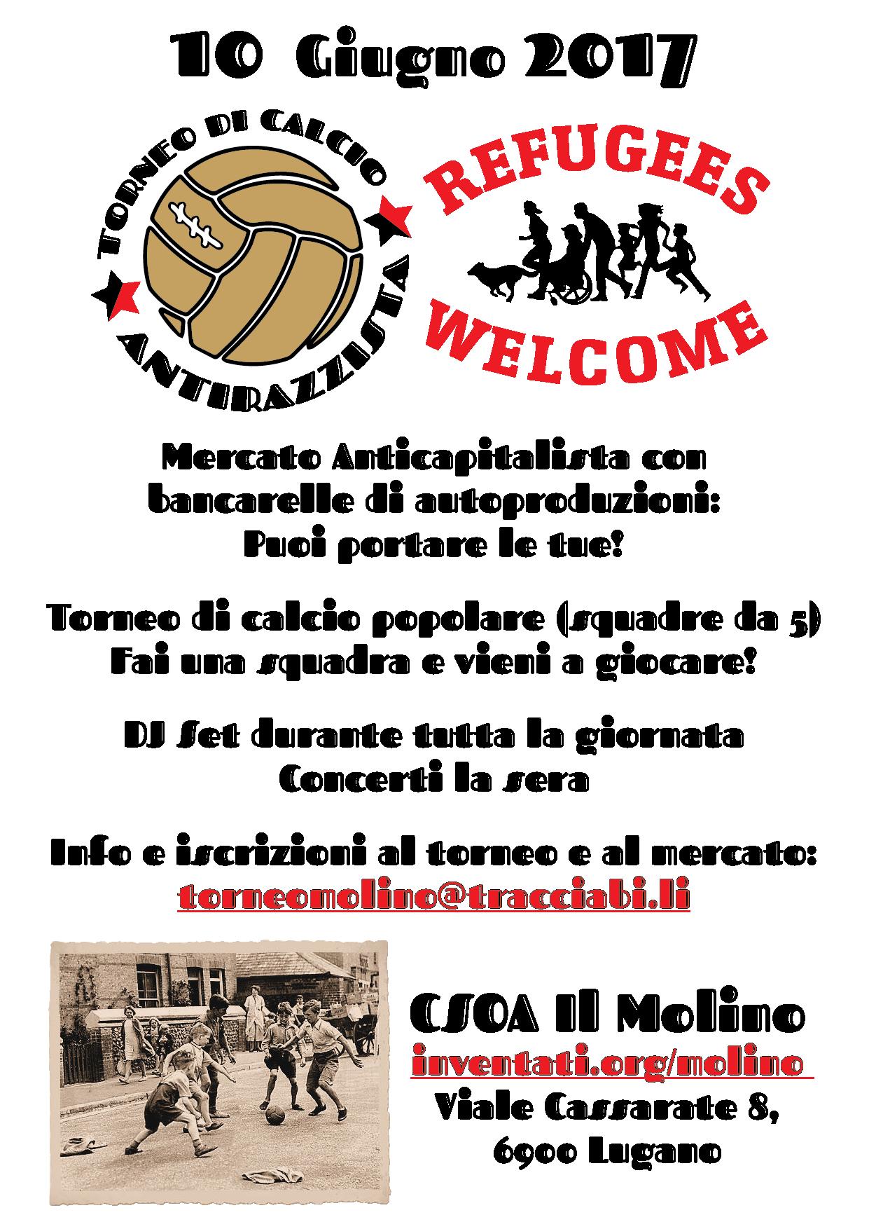 10.06.2017 - Torneo di Calcio Antirazzista e Mercato popolare anticapitalista 2