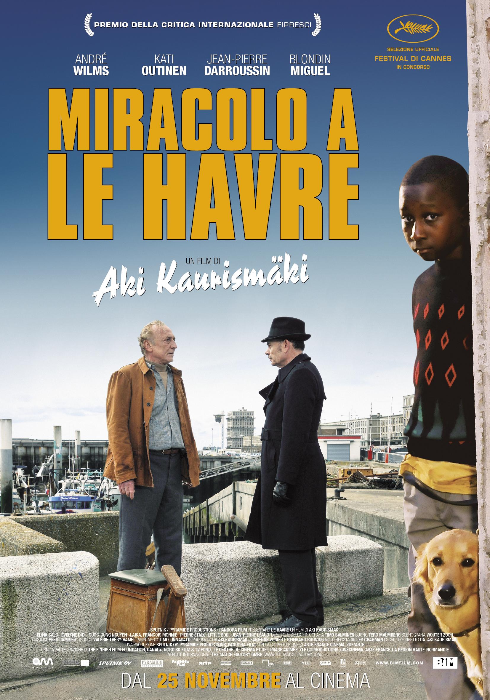 09.03.2017 - CineMolino - Miracolo a Le Havre di Aki Kaurismaki