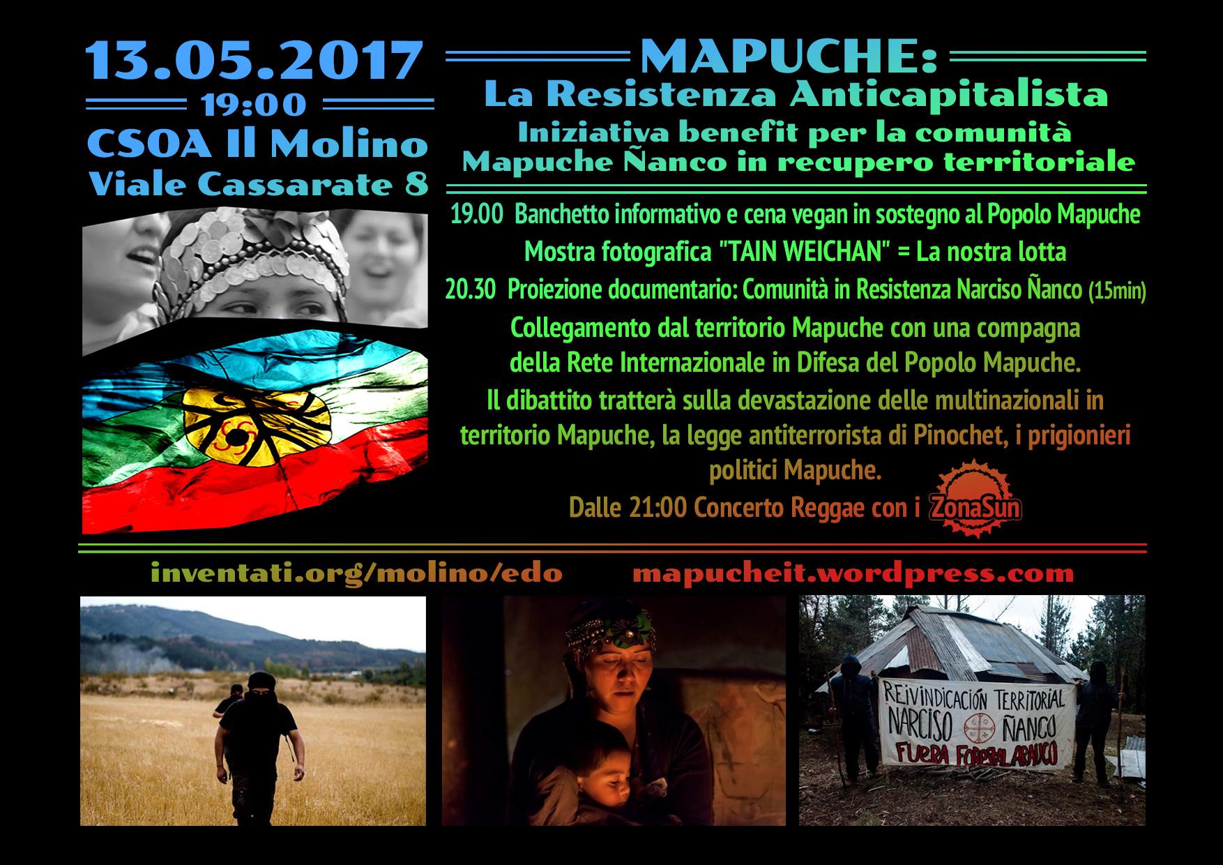 13.05.2017 - Mapuche: La Resistenza Anticapitalista 1