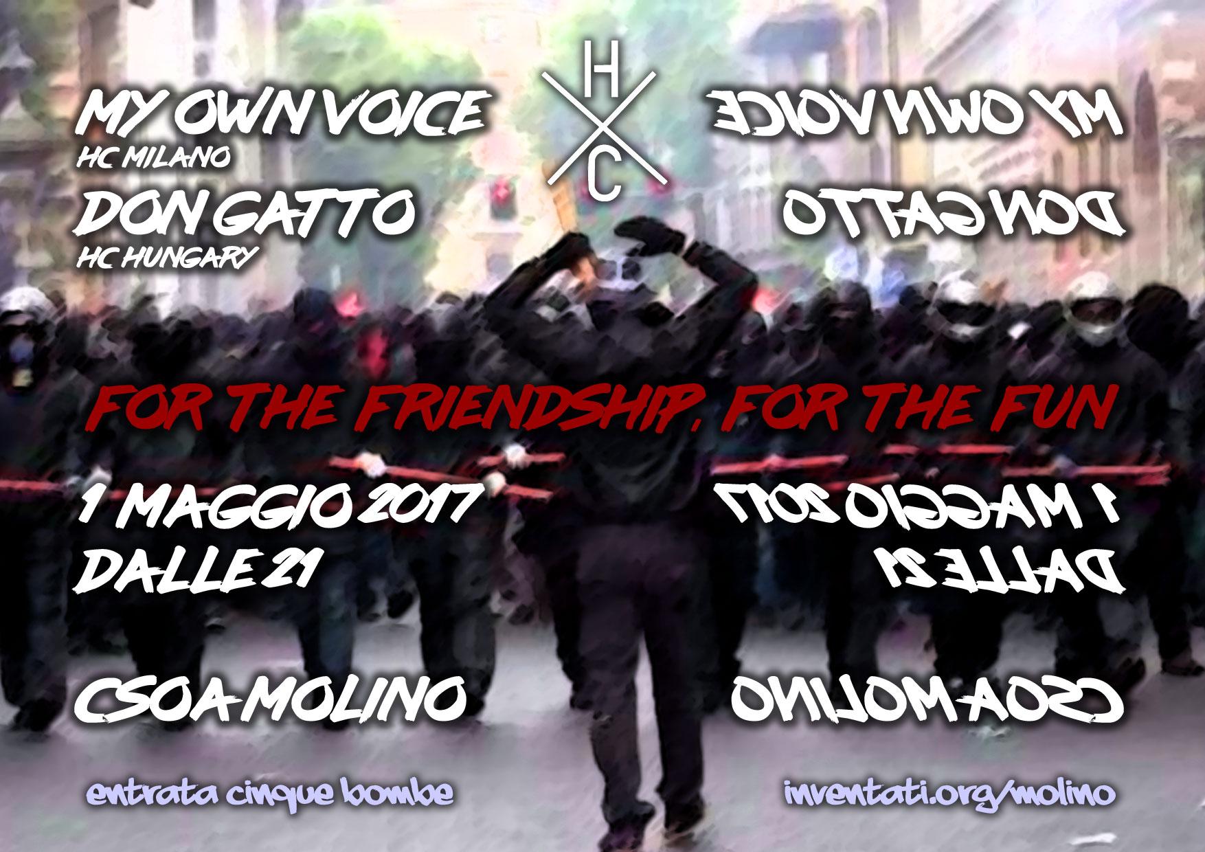 Primo Maggio 2017 - For The Friendhip, For The Fun