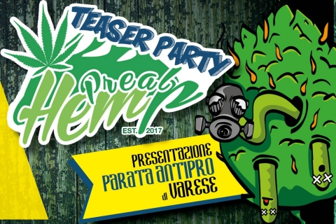 20.05.2017 - PrealpHemp Teaser Party Benefit Street Parade