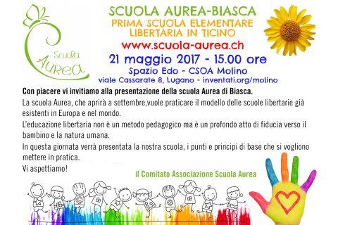 Scuola Aurea - Biasca: Prima  scuola elementare libertaria in Ticino