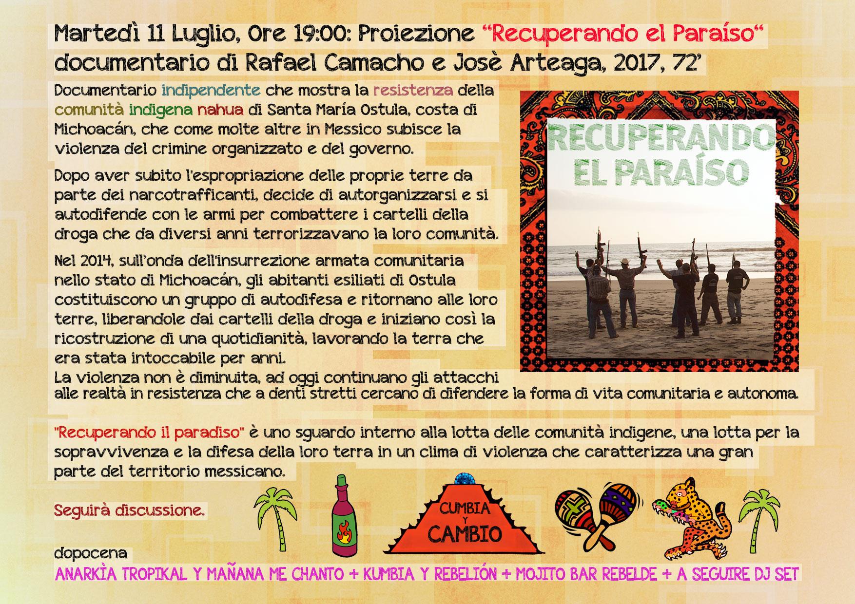 11.07.2017 - Cumbia y Rebelión - Mañana Me Chanto y Anarkía Tropikal 1