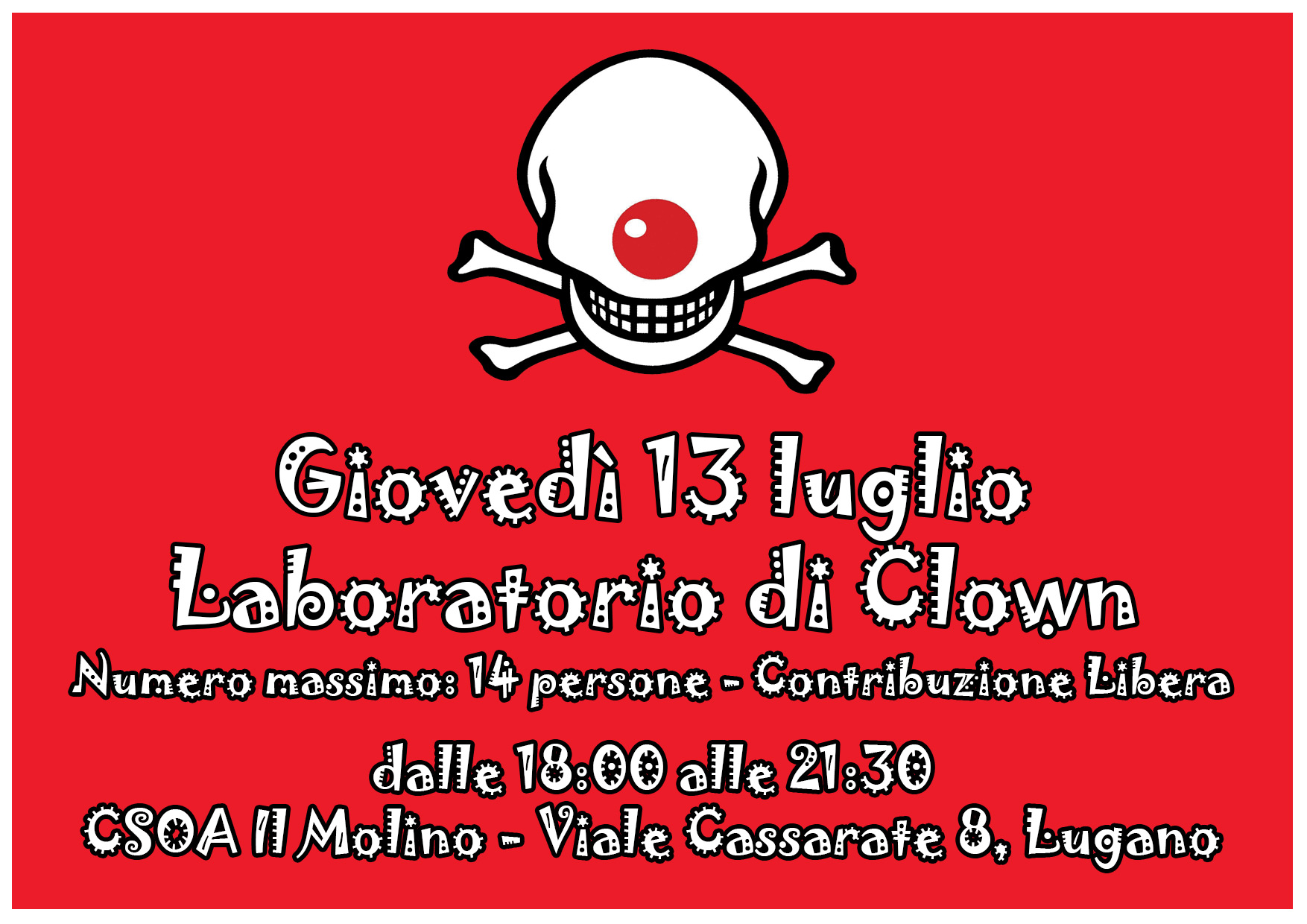 13.07.2017 - Laboratorio di Clown