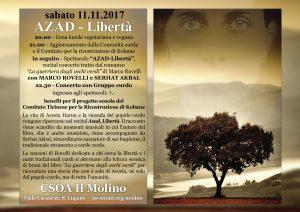 11.11.2017 - Azad - Libertà - Spettacolo