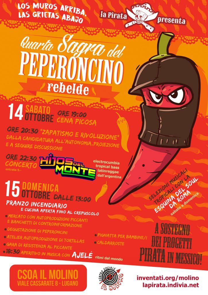 14 e 15.10.2017 - Quarta Sagra del Peperoncino Rebelde