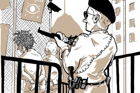 23.12.2017 - Corteo antirazzista, antifascista, anticapitalista e contro ogni frontiera a Lugano