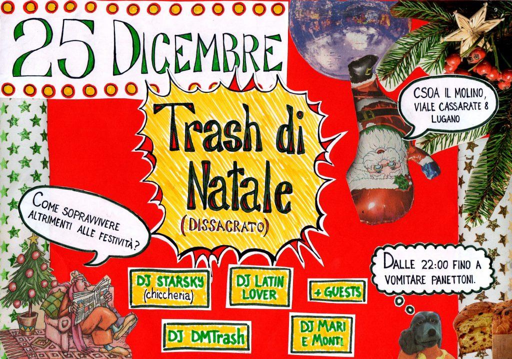 25.12.2017 - Trash di Natale (dissacrato)